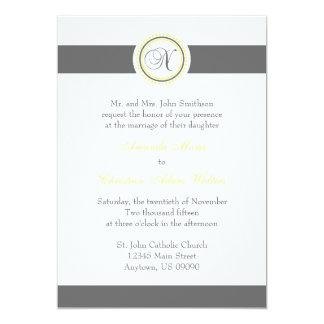 Invitaciones del boda del círculo del punto del invitación