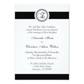 Invitaciones del boda del círculo del punto del comunicado personal