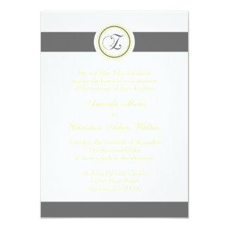 Invitaciones del boda del círculo del punto del comunicados personales