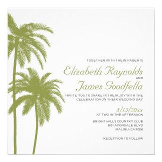 Invitaciones del boda del destino de la playa del