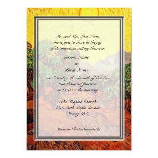 """Invitaciones del boda del padre del novio invitación 5.5"""" x 7.5"""""""