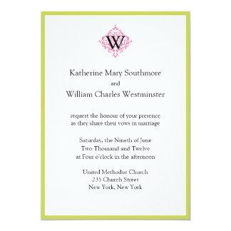Invitaciones del boda del presupuesto invitación 12,7 x 17,8 cm