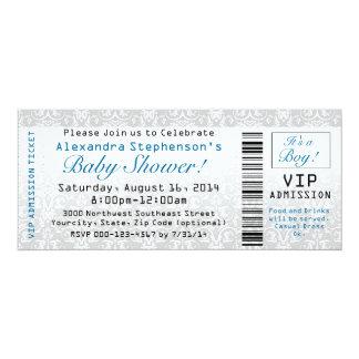 Invitaciones del boleto de la fiesta de bienvenida invitación 10,1 x 23,5 cm