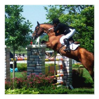"""Invitaciones del caballo de Grand Prix Invitación 5.25"""" X 5.25"""""""