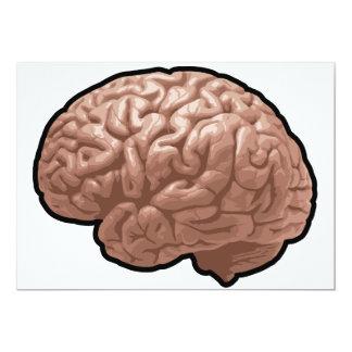 Invitaciones del cerebro humano anuncios