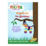 Invitaciones del cumpleaños de Cinco de Mayo del P