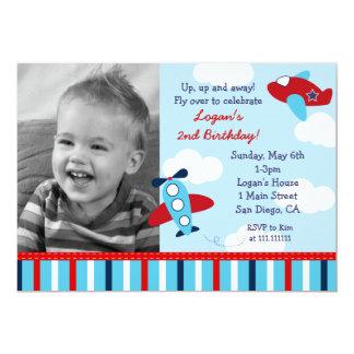Invitaciones del cumpleaños de la foto del invitación 12,7 x 17,8 cm