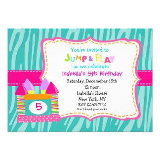 Invitaciones del cumpleaños del castillo de la des invitación personalizada