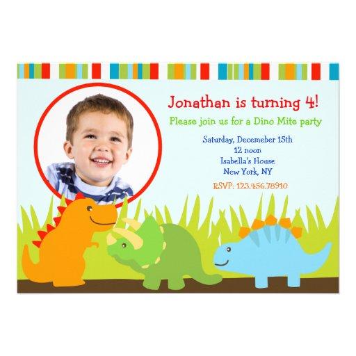 Dinosaurios tarjetas cumpleaños - Imagui