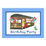 Invitaciones del cumpleaños del tranvía de New Orl