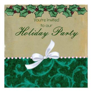 Invitaciones del día de fiesta comunicado personalizado