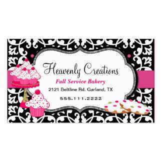 Invitaciones del dulce y tarjeta de visita de la