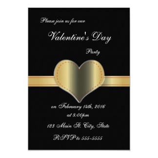 """Invitaciones del el día de San Valentín del marco Invitación 5"""" X 7"""""""