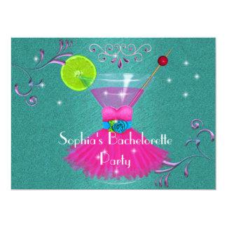 """Invitaciones del fiesta de Bachelorette con el Invitación 6.5"""" X 8.75"""""""