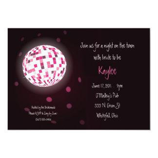 Invitaciones del fiesta de Bachelorette de la bola Anuncio Personalizado