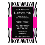 Invitaciones del fiesta de Bachelorette de la cebr