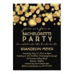 Invitaciones del fiesta de Bachelorette de las Comunicados Personales