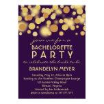 Invitaciones del fiesta de Bachelorette de las Anuncio