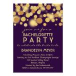 Invitaciones del fiesta de Bachelorette de las bur Anuncio