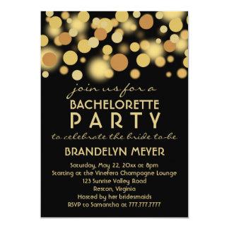 """Invitaciones del fiesta de Bachelorette de las Invitación 5"""" X 7"""""""