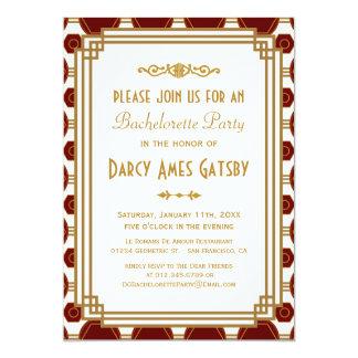 Invitaciones del fiesta de Bachelorette del art