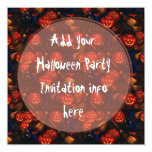 Invitaciones del fiesta de Halloween Invitación 13,3 Cm X 13,3cm