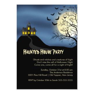 Invitaciones del fiesta de Halloween de la casa Comunicados