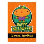invitaciones del fiesta de Halloween de la muñeca Anuncios Personalizados