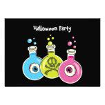 Invitaciones del fiesta de Halloween de la química Anuncio