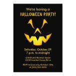 Invitaciones del fiesta de Halloween de la sonrisa Anuncios Personalizados
