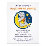 Invitaciones del fiesta de Halloween de las Comunicado