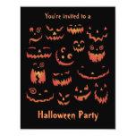 Invitaciones del fiesta de Halloween de las Comunicados Personalizados