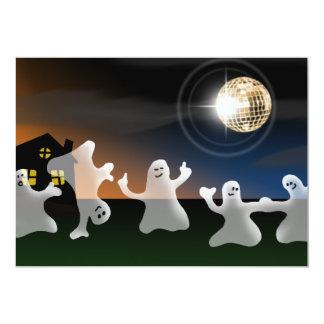 """Invitaciones del fiesta de Halloween de los Invitación 5"""" X 7"""""""