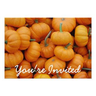 Invitaciones del fiesta de Halloween del remiendo Comunicados Personales