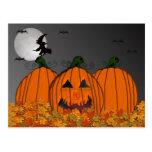 Invitaciones del fiesta de la bruja de Halloween e Tarjetas Postales