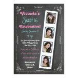 Invitaciones del fiesta de la cabina de la foto de comunicados personales