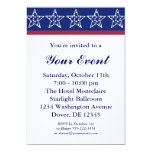 Invitaciones del fiesta de la campaña electoral de invitacion personal