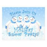 Invitaciones del fiesta de la nieve del día de fie invitaciones personales
