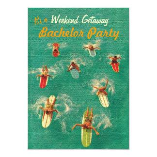 Invitaciones del fiesta de la partida del fin de comunicados