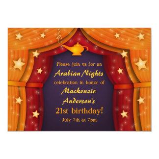 Invitaciones del fiesta de la tienda de las noches anuncio