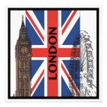 Invitaciones del fiesta de Londres, Inglaterra Comunicado Personal
