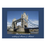 Invitaciones del fiesta de Londres, Inglaterra Invitaciones Personales
