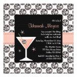 Invitaciones del fiesta de Martini Bachelorette de Invitacion Personalizada