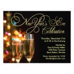Invitaciones del fiesta de Noche Vieja Invitacion Personalizada