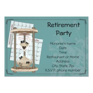 Invitaciones del fiesta de retiro invitacion personalizada