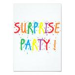"""""""Invitaciones del fiesta de sorpresa"""" Comunicados Personalizados"""