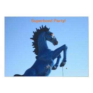 Invitaciones del fiesta de Superbowl Invitación 12,7 X 17,8 Cm
