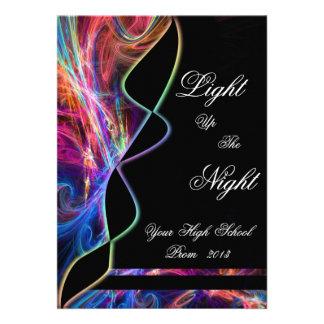 Invitaciones del fiesta del baile de fin de curso comunicado