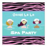 Invitaciones del fiesta del balneario invitaciones personales