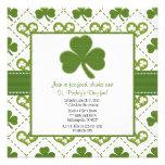 Invitaciones del fiesta del día de St Patrick Comunicados Personales